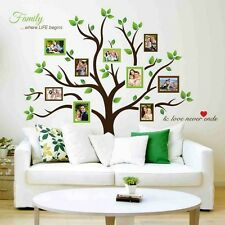 Timber Artbox Large Family Tree Photo Frames Wall Decal Home Living Room Decor