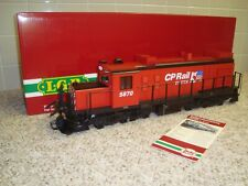 LGB Red CP Rail Diesel Train Engine G scale 23552 limited edition with sound