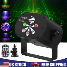 Stage Lighting 240 Pattern Uv Led Rgb Laser Projector Dj Disco Xmas Party Light