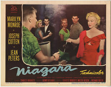 MARILYN MONROE: NIAGARA • Most Sought After Card #4 • 1953 • FINE + • ORIGINAL