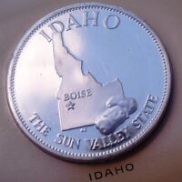 "Governor's Edition. 39mm Proof-Like Bronze. Idaho. ""States of the Union"""