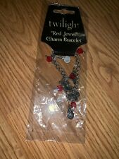 "Twilight Keyring/Bag Clip ""Red Jewel Charm"" NEW IN PACKAGE RARE!"