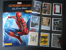 PANINI MARVEL SPIDERMAN FAR FROM HOME 192 STICKER SET & 50 CARD SET