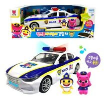 Pinkfong Baby Shark Family Police Car Toy 2 Figures 5 Korean Songs Baby&Kid