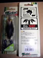 Teckel Sprinkler Frog Topwater Gamakatsu Hooks Black Blue #003 NEW