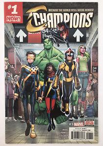 Champions #1 - First New Team - Marvel Comics