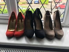 3 X High Heel Shoes Size 4 New Look And Next