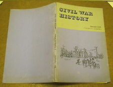Civil War History SEPTEMBER 1964 Volume 10 Number 3 VERY GOOD+ Copy!!!!