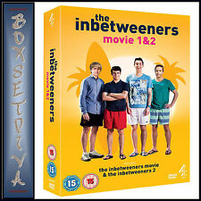 THE INBETWEENERS MOVIE 1 & 2 - DOUBLE PACK **BRAND NEW DVD***