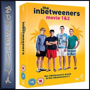 THE INBETWEENERS MOVIE 1 & 2 - DOUBLE PACK **BRAND NEW DVD***