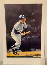Mickey Mantle Un-Signed Amore 12x18 Lithograph Print! Yankees HOF!