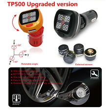 Consulta de temperatura de neumáticos 1 un. coche sistema de monitoreo de la presión de los neumáticos sensores externos