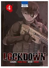 manga Lockdown Tome 4 Seinen Michio Yazu Nykken Suspense Thriller Ki-Oon !  VF