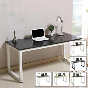 Computer Home Office Desk Corner Wooden Desktop Table PC Study Workstation Shelf