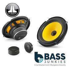 JL Audio C1-650 16cm 165mm 450 Watts Yellow Cone Car Door Component Kit Speakers