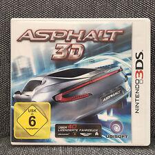 Nintendo 3DS Spiel - Asphalt 3D - inkl. Case