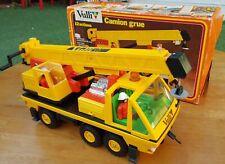 Vulli Kranwagen 12 Actions Super Truck Crane Digger Construction Lorry Toy Kids