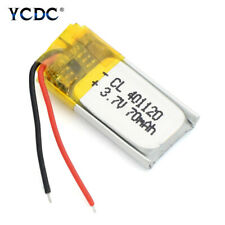 3.7V Rechargeable Li-Po Battery 401120 For MP3 MP4 Bluetooth Headset Speaker DVD