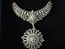 """HEIDI DAUS """"FRENCH TWIST"""" NECKLACE WITH REMOVABLE BROOCH"""