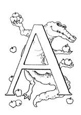 """Malbuch 58 Malvorlagen """"ABC-Tiere"""" Ausmalbilder als PDF * Kinder malen"""