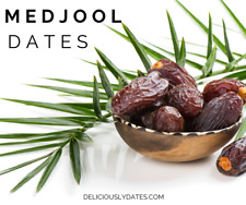 Medjool dates Fresh & succulentes qualité Premium 100% Naturel Boîte 5 kg Free p...