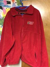 University of Iowa Children's Hospital Full Zip Fleece Jacket 2XL Kinnick Wave