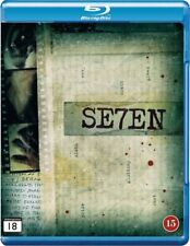 Se7en Seven (1995) Brad Pitt Morgan Freeman Blu-Ray Import Brand New Free Ship
