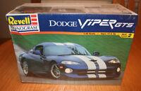 Revell Monogram Dodge Viper GTS Kit # 85-6359 Factory Sealed 1:25 10+