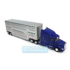 1:32 Peterbilt Model 579 Kids Semi Truck with Livestock Trailer Kids Toy