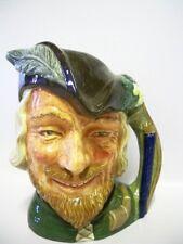 More details for royal doulton character large jug robin hood d6527- copr 1959