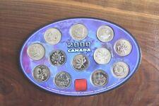 Canada Millennium 2000 Coin Set , 12 Quarters *Circulated*