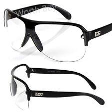 New DG Mens Shield Wrap One Lens Fashion Designer Sunglasses Shades Retro Around