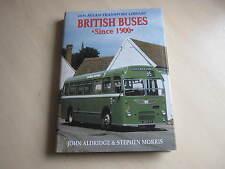 British Buses Since 1900 by John Aldridge, Stephen Morris (Hardback, 2000)