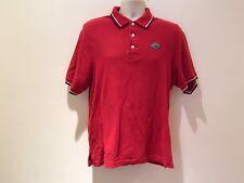 Vintage Air Jordan Polo Basketball Red Mens Size Medium 100% Cotton