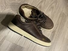 Osklen Men Size 10 Br39 Brown Leather Sneaker Shoes