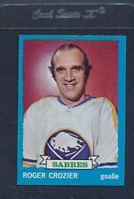 1973/74 Topps #108 Roger Crozier Sabres NM *974