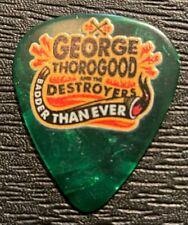 GEORGE THOROGOOD TOUR GUITAR PICK