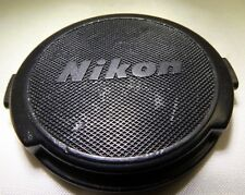 Nikon Lens Front Cap 52mm Made in Japan for  50mm f1.4 35mm Ai-s AI Nikkor Black