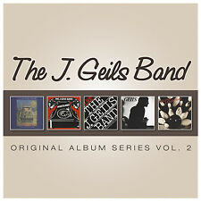 J. Geils Band ORIGINAL ALBUM SERIES VOL 2 Box Set NIGHTMARES... Best Of NEW 5 CD