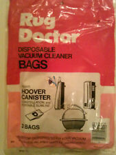 """5 bags of 5 Rug Doctor Hoover Canister Vacuum Bags  """"What a Bargain"""""""