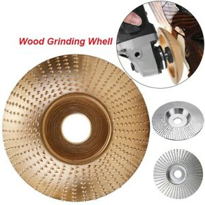 """16mm 5/8"""" Bore Extreme Shaping Disc Tungsten Carbide Wood Sanding Carving Tool"""