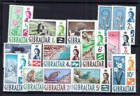 Gibraltar QEII 1960 short mint LHM set to 10/- SG160-173 WS15151
