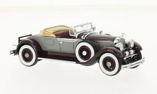 NEO 46520 - Packard 640 Custom huit roadster cabriolet gris / rouge 1929 1/43