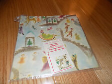 VTG CHRISTMAS WRAPPING PAPER GIFT WRAP Editions Dominique France Fairy Tale