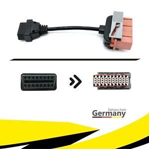★ PKW Diagnose Adapter Stecker Kabel OBD2 auf OBD1 für CITROEN PEUGEOT PSA KFZ ★