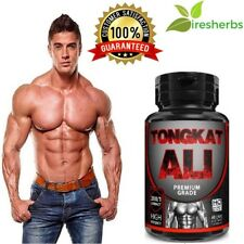 100% PURE TONGKAT ALI LONGJACK ROOT EXTRACT 200:1 MAX STRENGTH HIGH GRADE PILLS