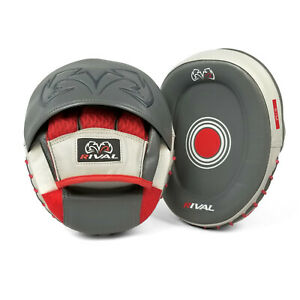 Rival RPM80 Impulse Boxing Punch Mitts Focus Pads Hook And Jab Target Coaching