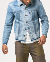 Mens Levi Altered Trucker Denim Jean Jacket Reform Levi's large