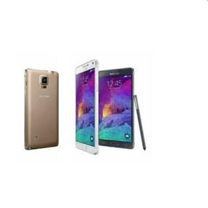 Samsung Galaxy Note 4 N910F Unlocked 32GB 3GB RAM Android Phone Free shipping