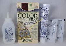 COLORERBE IPOCOLOR Couleur COLORATION cheveux DANS crème 60ml 18 CASTANO ACAJOU